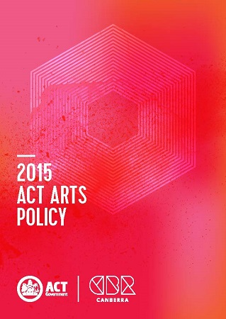ACT Arts Policy Framework Cover