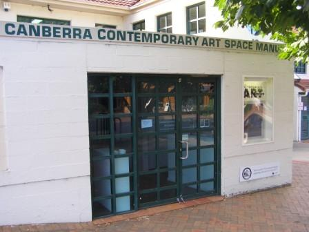 Canberra Contempoary Arts Space Manuka